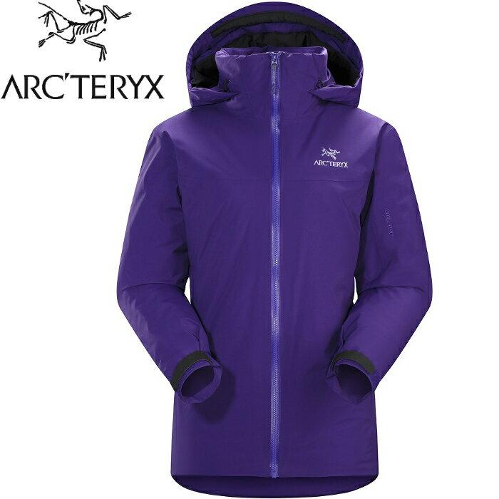 Arcteryx 始祖鳥 頂級防水透氣保暖化纖外套/GTX雪衣/登山/旅遊 女款 Fission SV 19646 杜鵑花紫