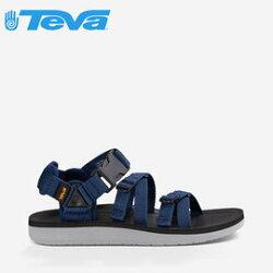 《台南悠活運動家》【TEVA】美國 男款 Alp Premier 經典設計織帶涼鞋 1015200 NAVY 海軍藍
