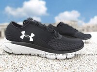 父親節禮物推薦Shoestw【1285677-001】UNDER ARMOUR 慢跑鞋 Speedform Fortis 2.1 黑灰