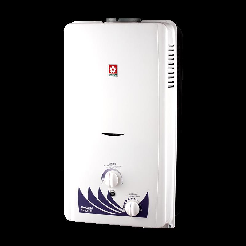 (櫻花)瓦斯熱水器(10L)SH-1016RK