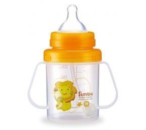 小獅王辛巴 幼兒訓練杯(扁嘴型)200ml S9934-2 [橘子藥美麗]