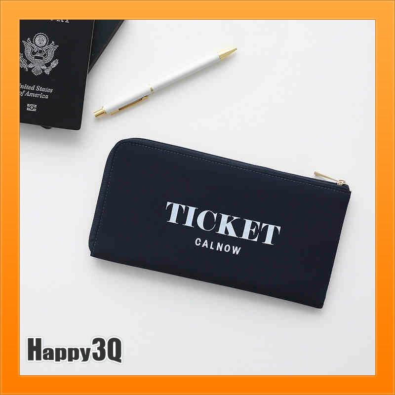 護照夾護照包旅行包外出隨身包出遊出行卡片包信用卡出國-黑/灰/紅【AAA4603】