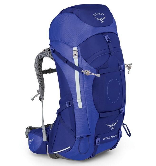 【鄉野情戶外用品店】 Osprey |美國| ARIEL AG 65 登山背包《女款》/重裝背包 自助旅行/ArielAG65 【容量62L】