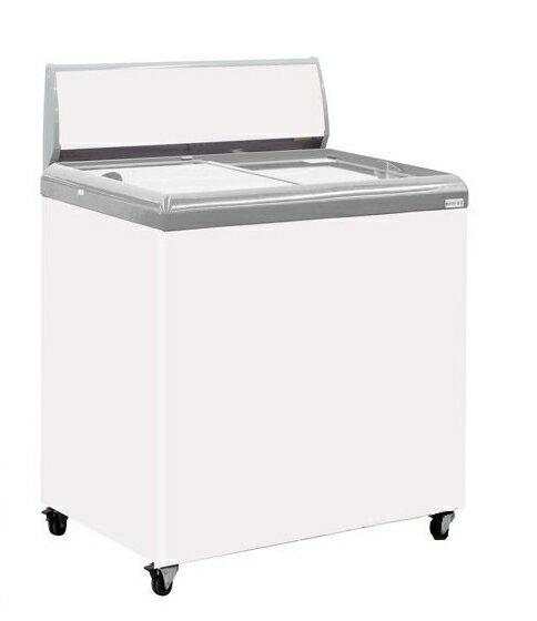 Hiron 海容 2尺4 玻璃推拉冷凍櫃 SD-200 ( 不附燈箱,不附籃子)