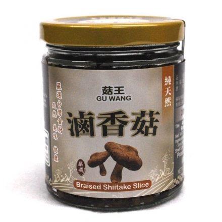 菇王 純天然滷香菇 240g