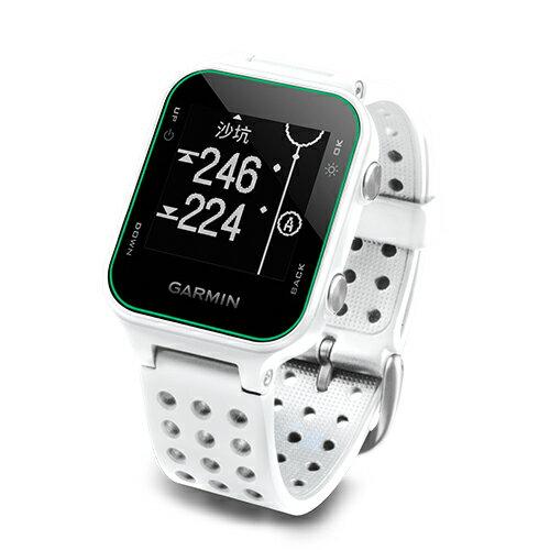 ★ 貨附發票★ GARMIN Approach S20 白 高爾夫球GPS腕錶