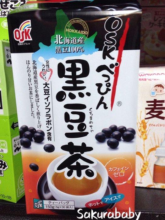 日本北海道 小谷黑豆茶 美人黑豆 黑豆茶包 30包入_櫻花寶寶