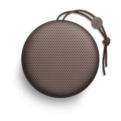 《育誠科技》『B&O PLAY BEOPLAY A1 深紅色』藍芽喇叭/音響揚聲器/藍牙4.2/24小時音樂播放時間/可同時為裝置充電/另售JBL PULSE2