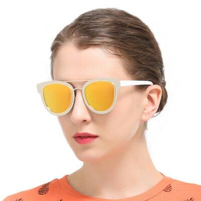 墨鏡雙色潮撞色造型經典時尚大框太陽眼鏡【KS8808】BOBI0315
