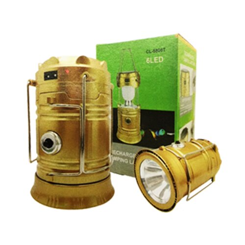 【隔日配】 CL-5800T 露營燈 6LED 手提式 手電筒 /個