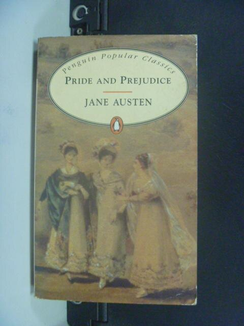 【書寶二手書T6/原文小說_KDS】Pride and prejudice_Jane Austen