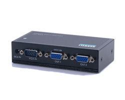 HANWELL 捍衛科技 VSA-102 1對2 VGA 高頻視訊同步分配器 [天天3C]
