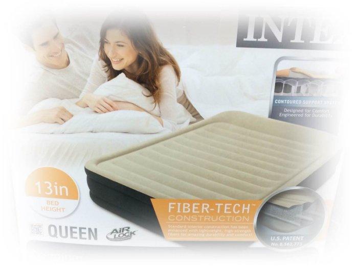 易集GO商城-INTEX QUEEN 進口雙人充氣床/新科技雙人空氣床(152x203x33cm)-63653
