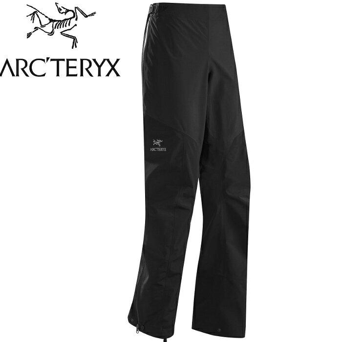 Arcteryx 始祖鳥 GORE-TEX 輕量透氣全開風雨褲 Alpha SL Pant 女款 12162 黑色