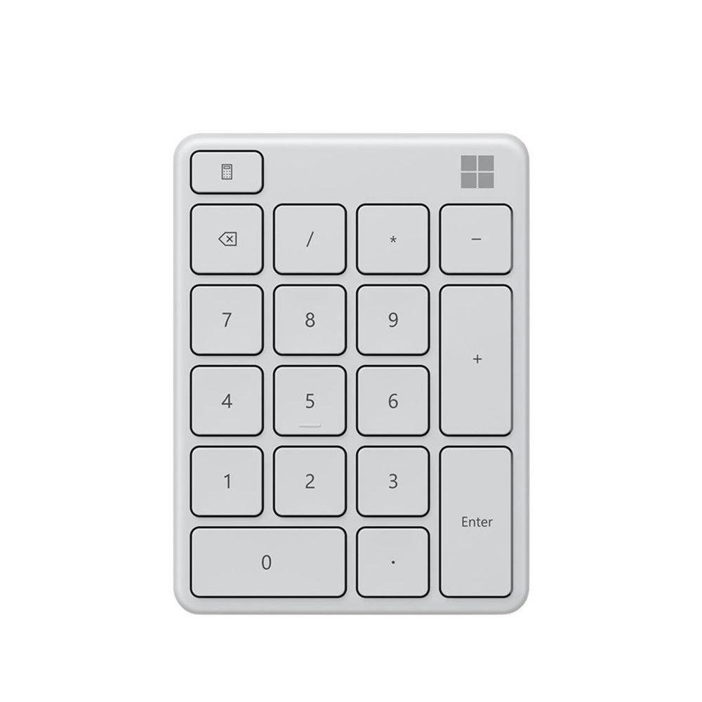 【Microsoft 微軟】藍牙數字鍵盤-月光灰【三井3C】