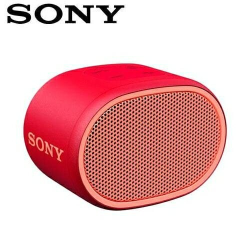 【公司貨-非平輸】SONY 可攜式無線藍牙喇叭 SRS-XB01-R 紅