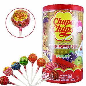 加倍佳棒棒糖8種口味-100支/桶【合迷雅好物商城】