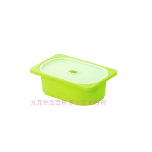 【九元生活百貨】聯府 AW51-3 小卡拉1號附蓋儲物盒(綠) 置物 收納 AW513