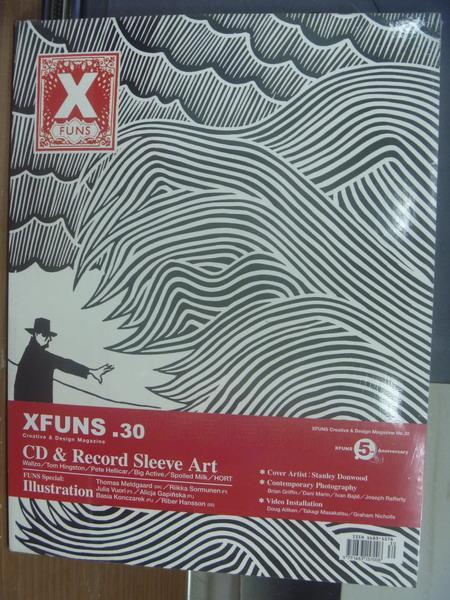 【書寶二手書T1/設計_PGE】Xfuns放肆創意設計_30期_CD & Record Sleeve Art等_未拆