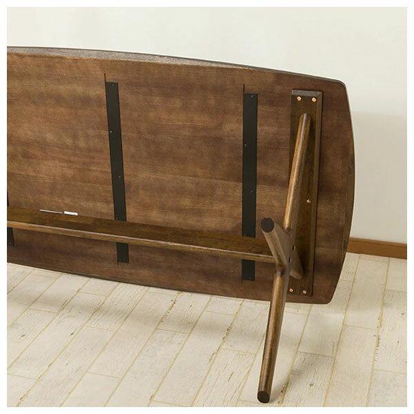 ◎橡膠木質餐桌 RELAX 160 MBR NITORI宜得利家居 7