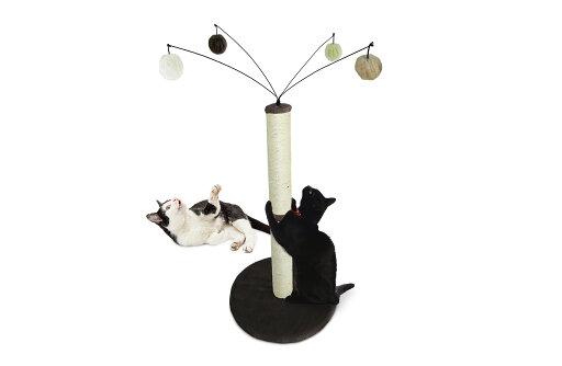 Tiger Tough Cat Furniture Fuzzball Cat Scratching Post 2edf8015ff89cc14db4396ca0925348c