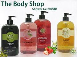 【彤彤小舖】The Body Shop 沐浴膠系列 粉紅葡萄柚 草莓嫩白 雨林花叢蜂蜜 辣木籽 蜜橘 750ml