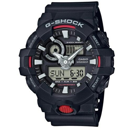 CASIO G-SHOCK/悍將勇士運動錶/GA-700-1ADR