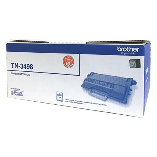 Brother 原廠黑色碳粉匣 TN-3498 (20K) 適用 HL-L6400DW/MFC-L6900DW