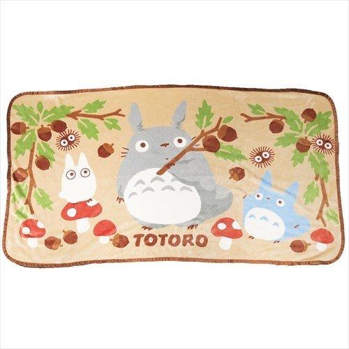 X射線【C619300】龍貓Totoro小毛毯80x150cm,禦寒披毯冷氣毯毛毯懶人毯披肩暖毯保暖商品披肩毯絨毛毛毯