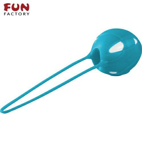 ◤按摩棒情趣按摩棒變頻按摩棒◥德國Fun Factory*SMARTBALLS teneo-uno 聰明球球單球uno(白/土耳其藍) 【跳蛋 名器 自慰器 按摩棒 情趣用品 】