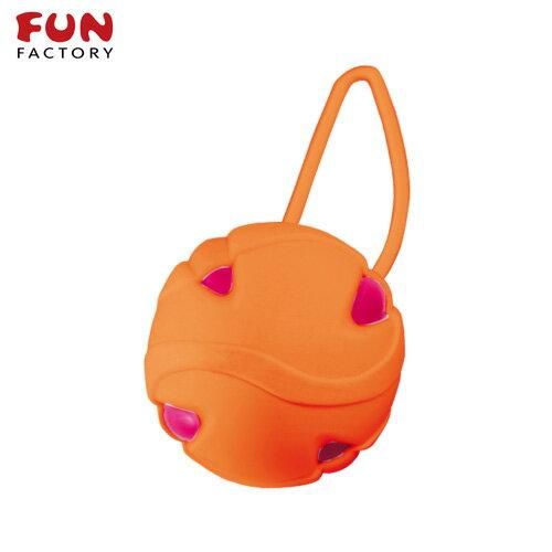 ◤按摩棒情趣按摩棒變頻按摩棒◥德國Fun Factory*SMARTBALLS teneo-uno 聰明球球單球uno(紫紅/橘) 【跳蛋 名器 自慰器 按摩棒 情趣用品 】