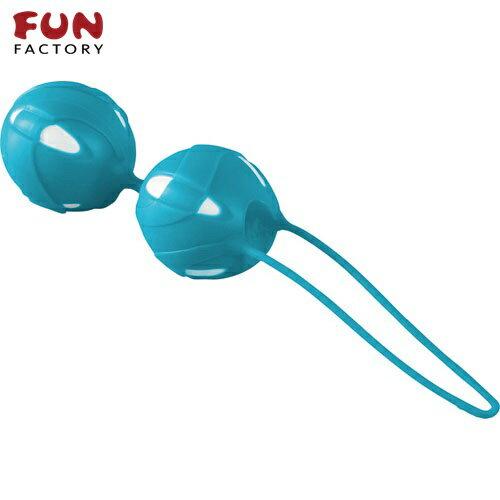 ◤按摩棒情趣按摩棒變頻按摩棒◥德國Fun Factory*SMARTBALLS teneo-duo 聰明球球雙球duo(白/土耳其藍) 【跳蛋 名器 自慰器 按摩棒 情趣用品 】