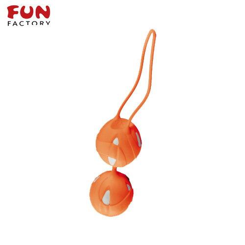 ◤按摩棒情趣按摩棒變頻按摩棒◥德國Fun Factory*SMARTBALLS teneo-duo 聰明球球雙球duo(白/橘) 【跳蛋 名器 自慰器 按摩棒 情趣用品 】