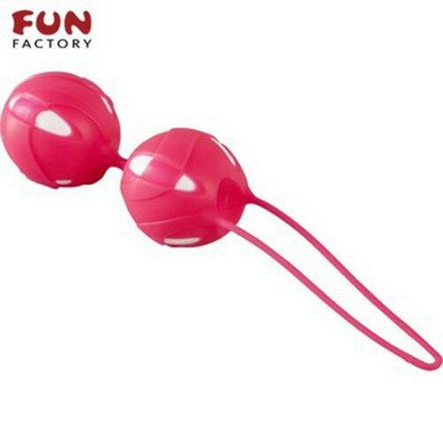 ◤按摩棒情趣按摩棒變頻按摩棒◥德國Fun Factory*SMARTBALLS teneo-duo 聰明球球雙球duo(白/紅) 【跳蛋 名器 自慰器 按摩棒 情趣用品 】