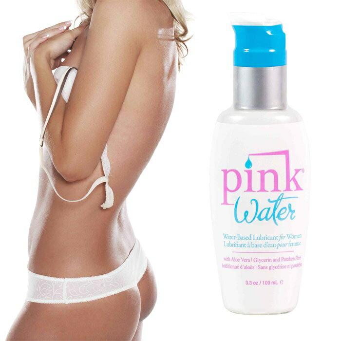 ◤潤滑液情趣潤滑液高潮潤滑液◥ 美國Empowered Products*Pink Water 水溶性潤滑劑 3.3oz(100ml) 【跳蛋 名器 自慰器 按摩棒 情趣用品 】