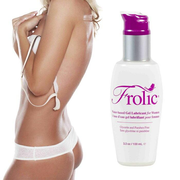 ◤潤滑液情趣潤滑液高潮潤滑液◥ 美國Empowered Products*Pink Frolic 水性潤滑凝露 3.3oz(100ml) 【跳蛋 名器 自慰器 按摩棒 情趣用品 】