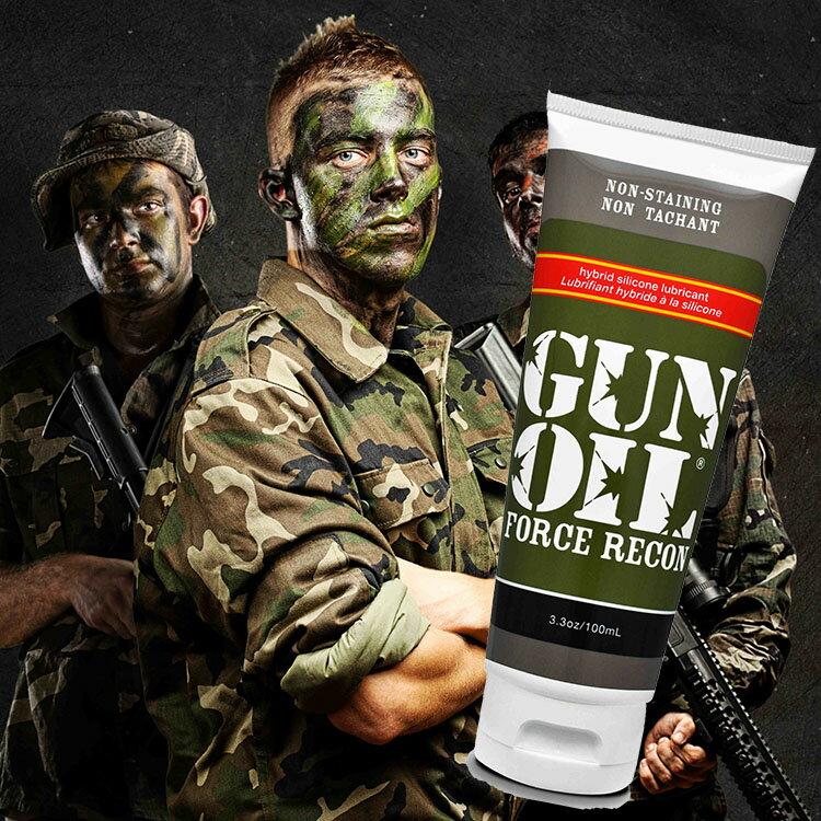 ◤潤滑液情趣潤滑液高潮潤滑液◥ 美國Empowered Products*Gun Oil Force Recon 半水半矽潤滑液 3.3oz(100ml) 【跳蛋 名器 自慰器 按摩棒 情趣用品 】