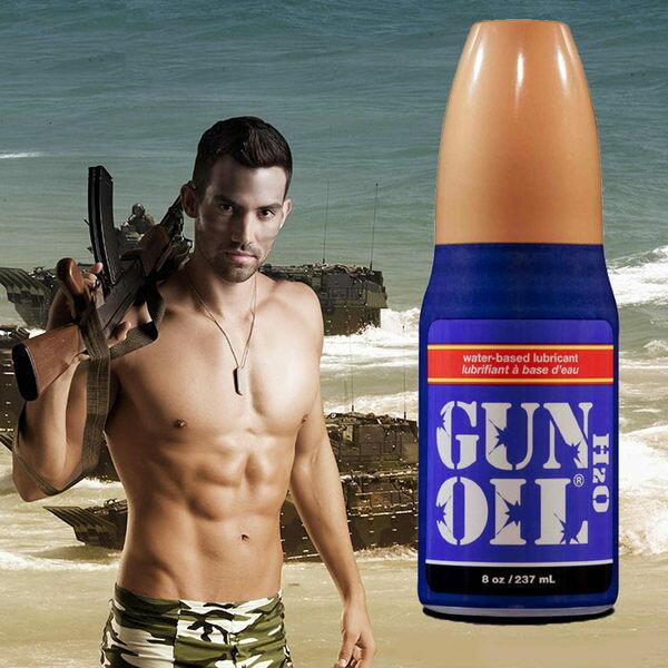 ◤潤滑液情趣潤滑液高潮潤滑液◥ 美國Empowered Products*Gun Oil H2O 水性潤滑劑 8oz(237ml) 【跳蛋 名器 自慰器 按摩棒 情趣用品 】