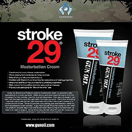 ◤潤滑液情趣潤滑液高潮潤滑液◥ 美國Empowered Products*Gun Oil Stroke 29 男用按摩潤滑凝膠 6.7oz(200ml) 【跳蛋 名器 自慰器 按摩棒 情趣用品 】