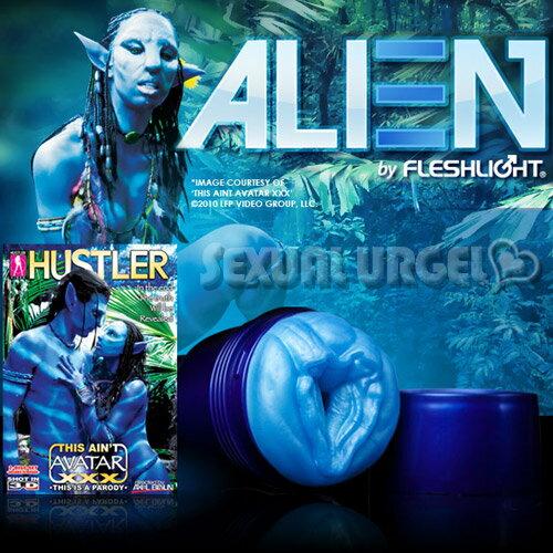 ◤飛機杯自慰杯自慰◥ 美國FleshLight - Alien 異型阿凡達~『HUSTLER最新力作』【跳蛋 名器 自慰器 按摩棒 情趣用品 】