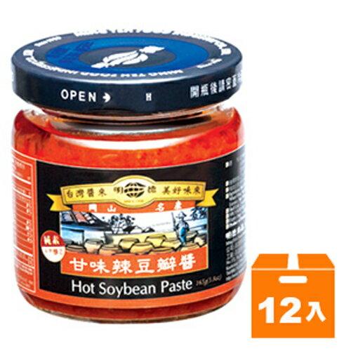 《岡山明德》 甘味辣豆瓣醬 165g (12入)/箱