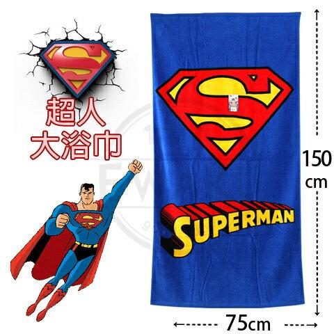 2017最新款超人大浴巾