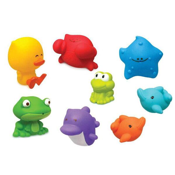 美國Infantino歡樂海底樂園洗澡玩具組