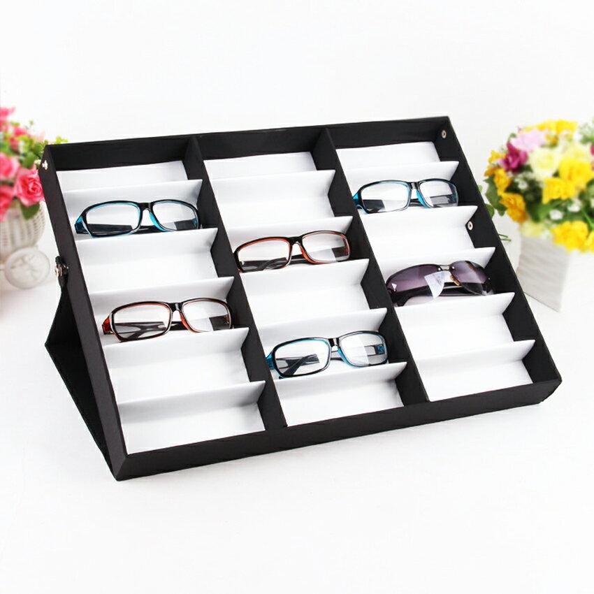 18 Display Grid Case Box Sunglasses Storage Display Box 1