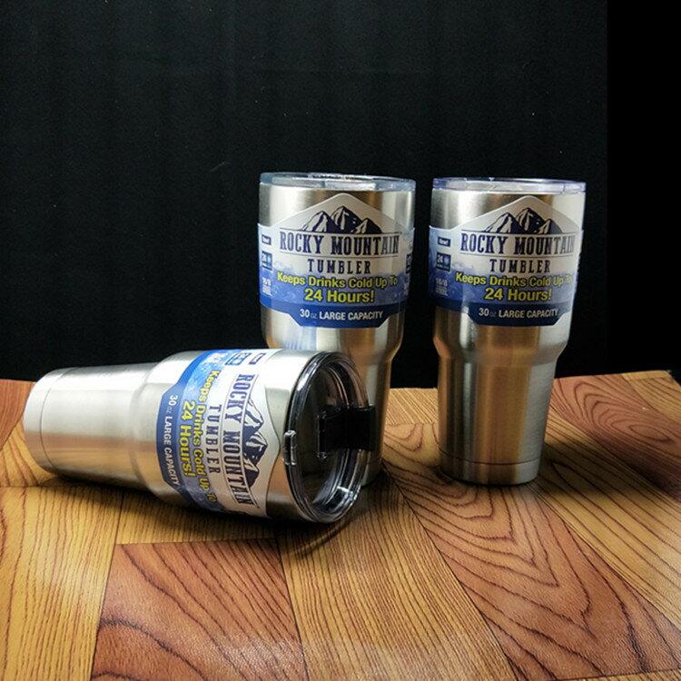 自在坊 現貨 304不銹鋼冰霸杯 900ml 冰霸杯 酷冰杯 保冷杯 保溫杯 杯子 水杯 隨身杯 保溫瓶