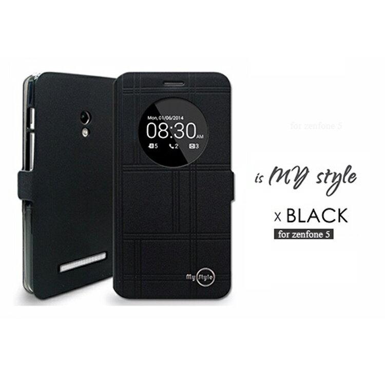 ☆ASUS ZenFone 5 | A500CG MYstyle 窗型感應測掀皮套 ZenFone 5  保護套【清倉】