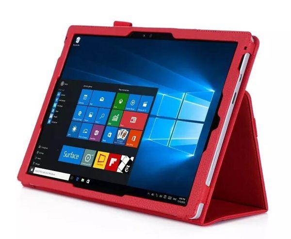 【預購】微軟 Surface Pro 4 Pro 3 通用文逸手托插卡平板皮套 Microsoft Pro 4 Pro 3 通用保護皮套 保護套