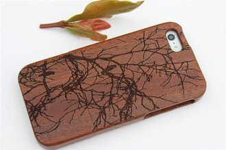 iPhone 5 5S保護套 天然實木系列保護殼 Apple iphone 5 5S 藝術手機殼【預購】