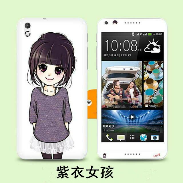 HTC Desire 816 手機貼 XLT015卡通貼膜 彩膜全身貼高透明螢幕貼 高清貼