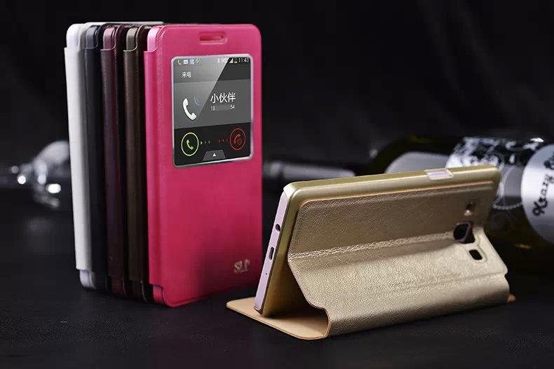~三星Galaxy A5 5吋保護套 蘇拉達Sulada視窗系列智能休眠皮套 Samsun